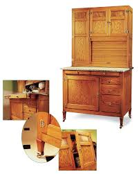 Kitchen Hoosier Cabinet Hoosier Cabinet Popular Woodworking Magazine