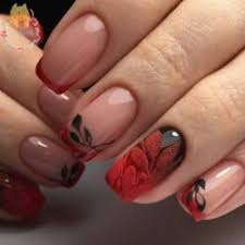 red and black nails big gallery of designs bestartnails com
