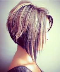 one side stack sassy bob bllack hair angled bob haircut bob haircuts for fine hair inverted bob with