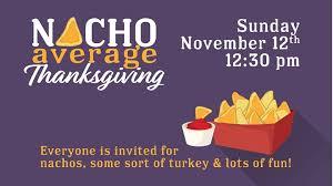 nacho average thanksgiving at umc ft worth fort worth