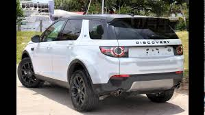 land rover discovery 2015 white 2016 land rover discovery sport yulong white youtube