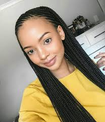 black braids hairstyle for sixty stunningly cute ghana braids styles for 2017 protective styles