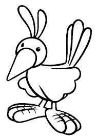 duck coloring pages for kids preschool and kindergarten