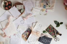 custom invitations custom wedding invitations sugared fig paperie