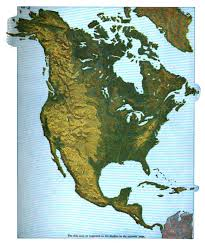 North America Continent Map by File Maury Geography 035a North America Relief Jpg Wikimedia Commons