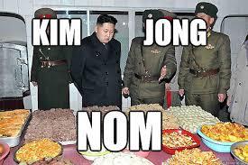 Kim Jong Un Memes - hungry kim jong un meme