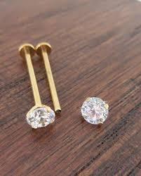 piercing aur gropiță piercing consolidarea obrajilor cu piercing bijuterii gropiță