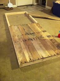 Reclaimed Barn Door Hardware by Sliding Barn Door From Reclaimed Pallet Wood We Could Make A
