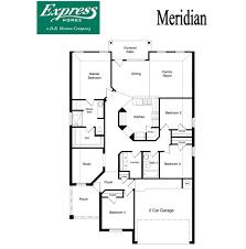 Parkview Floor Plan Meridian Parkview Fort Worth Texas D R Horton