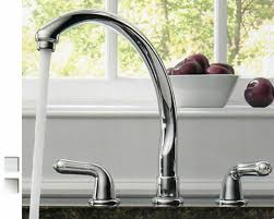 delta waterfall kitchen faucet kitchen faucets two handle faucets golden eagle design