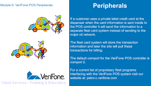 module 6 verifone pos peripherals copyright 2006 verifone inc