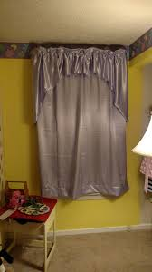 purple curtains and painted tiebacks by b4 and afters project blog