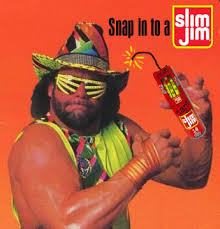 Randy Savage Meme - the joel whalen experience slim jim and the macho man randy savage