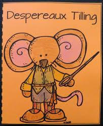 tales despereaux character trait cards book units teacher