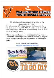 d1 backyard hockey wallingford hawks youth hockey assoc