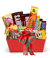 christmas gift baskets santa s sweet tooth basket at from you flowers