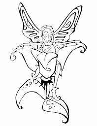 fairy princess coloring pages coloring home