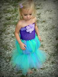 Halloween Costumes Ariel Mermaid Costume Tutu Girls Dress Halloween