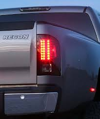 2011 chevy silverado smoked tail lights chevy gmc led taillights truck car parts 264175bk recon