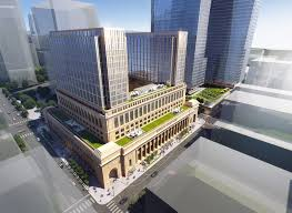 chicago union station will gain five new towers as part of its