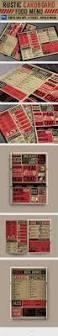 Rustic Kitchen Boston Menu - rustic pizza menu flyer by monogrph inspirations with kitchen
