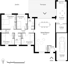 plan plain pied 5 chambres plan plain pied 5 chambres evtod