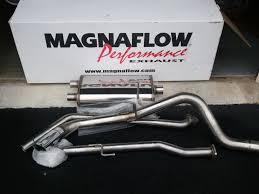 nissan titan quiet performance exhaust magnaflow 15580 installed nissan frontier forum