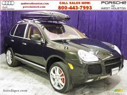 2006 Porsche Cayenne Turbo - 2006 porsche cayenne turbo in dark olive metallic a91272 auto
