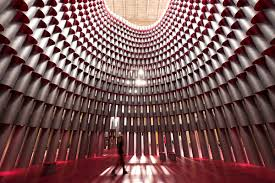studio u0027s domed hive opens at national building museum