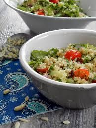 cuisiner le quinoa ces temps ci en cuisine salade de quinoa et roquette