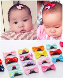 baby girl hair bows 10 pcs baby girl s mixed colors ribbon hair bow mini latch