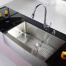 42 inch kitchen sink stainless farmhouse sink black kitchen sink with drainboard in