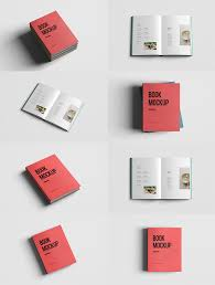 free realistic book mockup psd mockups psd templates for