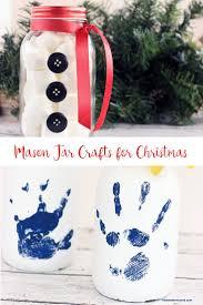 jar crafts for christmas