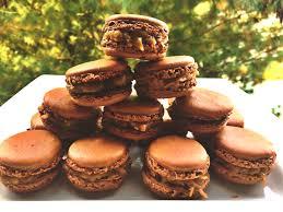 german chocolate cake macarons whisked away
