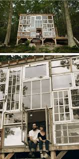 Glashaus Bad Salzuflen Charming Cabin Built For 500 With Repurposed Windows