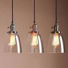 kitchen lighting ceiling adjustable vintage industrial pendant l cafe glass brass chrome