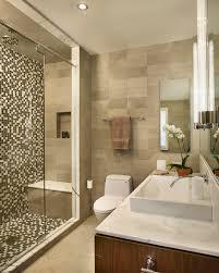 Mosaic Tiles Bathroom Floor - the options of simple u0026 chic tiled bathroom floors and walls