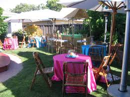party supplies rental uncategorized backyard party decorations combined with