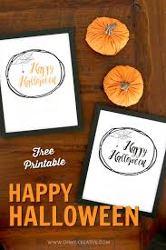 happy halloween free halloween printables oh my creative