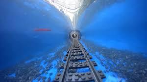 underwater lego train youtube