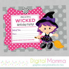 Halloween Birthday Poem Free Printable Halloween Party Invitations Theruntime Com