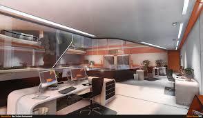 future architecture futuristic interior dayward inc office by