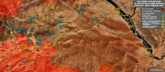 Mad Max Map Update Syrian Government Forces Advancing Along Palmyra Deir