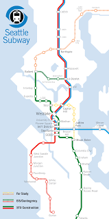 Seattle Monorail Map by Ballard To Downtown Must Be Done Right