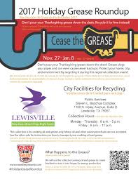 grease roundup city news city of
