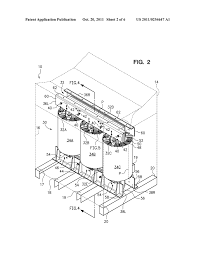 passive air cooling of a dry type electrical transformer diagram