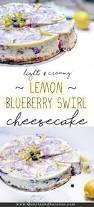 Tyler Florence Cheesecake Recipe by Lemon Blueberry Swirl Cheesecake Cheesecakes Blueberry And Quartz
