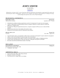 Resume Special Skills Example by Resume Examples Simple Clean Career Ecperience Professional Work