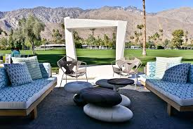 patio furniture palm springs modern outdoor goods regarding 4